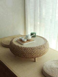 """Thumbnail of """"風と窓のテーブル畳の小茶台シンプルなテーブルの低いテーブル実木窓台テーブル"""""""