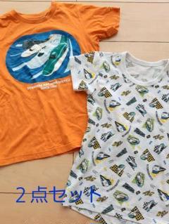 """Thumbnail of """"【最安値】プラレール Tシャツ 130cm 120cm 2点セット"""""""