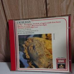 """Thumbnail of """"CD DEBUSSY COMPLETE ORCHESTRAL WORKS Ⅰ"""""""