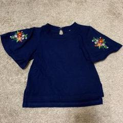 "Thumbnail of ""90cm 花刺繍 Tシャツ"""