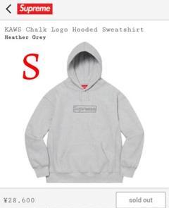 "Thumbnail of ""Supreme × KAWS Chalk Logo Hooded 21SS"""