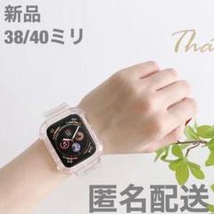 """Thumbnail of """"AppleWatch アップルウォッチバンド 38/40ミリ クリア 韓国 夏"""""""