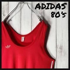 """Thumbnail of """"【70s】アディダス adidas トレフォイルロゴ サイドライン タンクトップ"""""""
