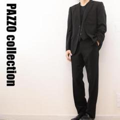 """Thumbnail of """"A6136 PAZZO COLLECTION 3P セットアップ スーツ 黒"""""""