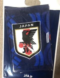 "Thumbnail of ""【新品・非売品】JFA100周年記念フェイスタオル 日本代表 なでしこジャパン"""