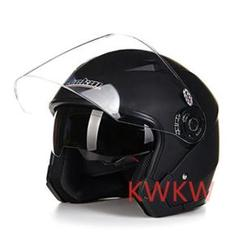 """Thumbnail of """"バイクヘルメット ジェットヘルメット JK-512 男女兼用 マットブラック"""""""
