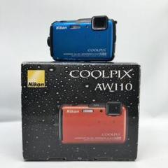 "Thumbnail of ""Nikon デジタルカメラ COOLPIX AW110 防水 マリンブルー"""