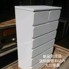 "Thumbnail of ""80ハイチェストWH大川家具#62"""