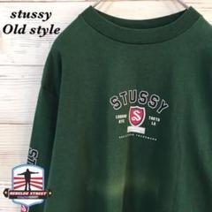 "Thumbnail of ""《USA製》90s オールドステューシー stussy☆ロンT L 緑"""