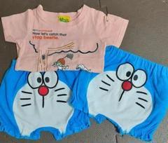 """Thumbnail of """"Laundry Tシャツ ドラえもん かぼちゃパンツ 2枚 計3点セット"""""""