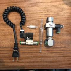 """Thumbnail of """"co2大型ボンベレギュレータ、泡カウンター、電磁弁、逆流弁のセットです"""""""