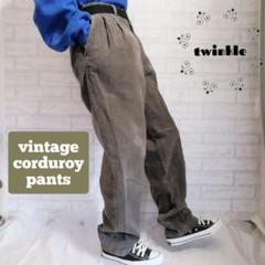 "Thumbnail of ""【90's】vintage ユーロ古着 太畝 テーパード コーデュロイパンツ"""