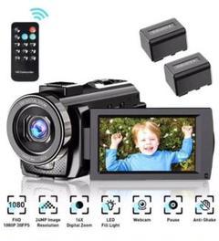 "Thumbnail of ""Metrusty デジタルHDビデオカメラ 2400万画素 HD 1080P"""