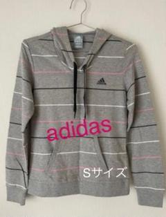 "Thumbnail of ""adidas フード付きパーカー S size"""