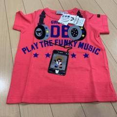 """Thumbnail of """"ミキハウス  ダブルビー  ヘッドフォン Tシャツ 80"""""""