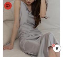 "Thumbnail of ""サテンワンピース 韓国ドレス"""