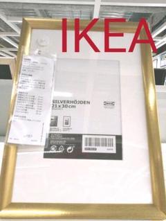"""Thumbnail of """"IKEA スィルヴェルホイデン フォトフレーム ゴールド 21×30"""""""