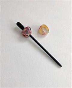 "Thumbnail of ""和装小物 髪飾りと指輪"""