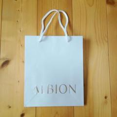 "Thumbnail of ""ALBION アルビオン  ショッパー ショップ袋 紙袋"""