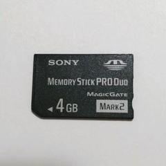 "Thumbnail of ""PSP メモリースティック 4GB"""