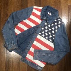 "Thumbnail of ""【レア 国旗柄】tommy jeans デニムジャケット レディスM オールド"""