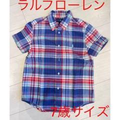 "Thumbnail of ""美品ラルフローレン 半袖シャツ チェックシャツ"""