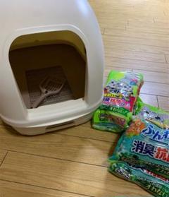"Thumbnail of ""ユニチャーム ペット 猫用 デオトイレ 本体 シート サンド"""