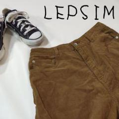 """Thumbnail of """"LEPSIM レプシィム コーデュロイ ブラウン カジュアルパンツ ワイド"""""""