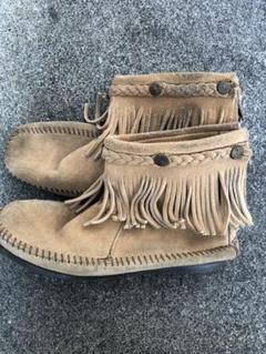 "Thumbnail of ""MINNETONKA*Back zip boot"""