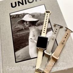 """Thumbnail of """"◎●Apple Watch レザースキニーベルト アイボリー 38/40mm○"""""""