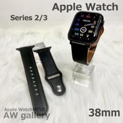 """Thumbnail of """"Apple Watch レザーバンド 本体 38 ベルト ブラック"""""""