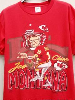 "Thumbnail of ""希少 NFL チーフス時代 ジョーモンタナ Tシャツ 1993年 90年代"""