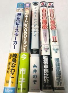 "Thumbnail of ""商業BL漫画本5冊セット 糸井のぞ・稲荷家房之介など"""