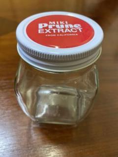 """Thumbnail of """"ガラス瓶 丸ネジ蓋 角瓶 ジャム 保存瓶 ミキプルーン空瓶 15個セット"""""""