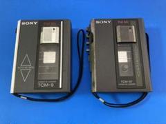 """Thumbnail of """"ジャンク品 カセットプレーヤー SONY TCM-9 TCM-57  2台セット"""""""