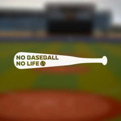 """Thumbnail of """"【カッティングステッカー】NO BASEBALL NO LIFE❗️野球好きの方に"""""""