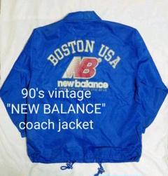 "Thumbnail of ""90's vintage ""NEW BALANCE"" ビッグロゴコーチジャケット"""