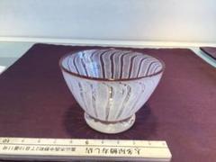 "Thumbnail of ""レースガラス 盃 珍味入 茶"""