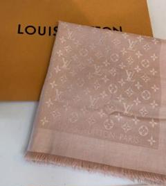 """Thumbnail of """"LOUIS VUTTIO ルイヴィトン ストール ピンク スカーフ"""""""