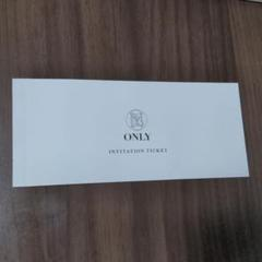"Thumbnail of ""スーツ ONLY 割引券(Invitation ticket)"""
