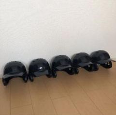 "Thumbnail of ""ミズノ 軟式 野球 ヘルメット 一般 ネイビー 5個セット 超美品"""