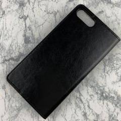 "Thumbnail of ""新品iPhone 7plus8plus本革スタンド機能付きケース 手帳型ブラック"""