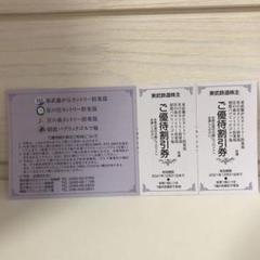 "Thumbnail of ""東武鉄道 ゴルフ場 割引券 2枚"""
