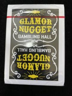 "Thumbnail of ""GLAMOR NUGGET playing cards GOLD 新品未開封"""