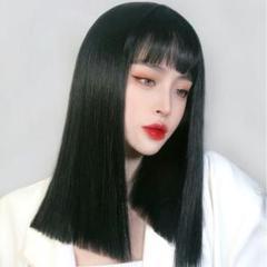 """Thumbnail of """"女性の短い髪は自然とフルセットで髪をシミュレートします。"""""""