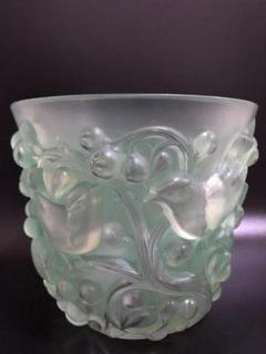 """Thumbnail of """"ルネ ラリック R.LALIQUE 花瓶 Avallon 1927年 パチネ彩色"""""""