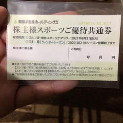 "Thumbnail of ""東急不動産ホールディングス 株主様スポーツご優待共通券"""