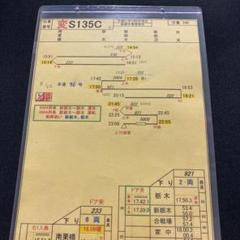 "Thumbnail of ""東武鉄道 スタフ(変S135C)"""