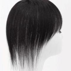 "Thumbnail of ""ご好評です♬★ 超軽量★広くカバーできるサイズ 自然な黒髪の全人毛ウィッグ"""