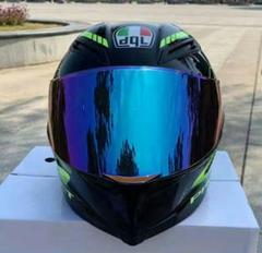 "Thumbnail of ""バイクヘルメット フルフェイスヘルメット オートバイ 超軽量 耐衝撃 通気(0"""